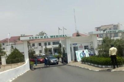 Hôpital gouvernemental à Abuja: beaucoup de patients rentrent à la maison ou se rendent dans les centre hospitaliers privés à cause du manque de médecins pour leur prise en charge.