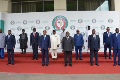 Sommet extraordinaire de la Cédéao sur la Guinée, le jeudi 16 septembre 2021 à Accra, capitale du Ghana