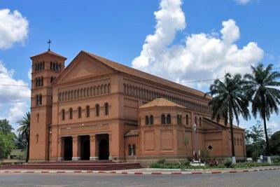 Cathédrale Saints Pierre et Paul à Lubumbashi, République démocratique du Congo. Le siège de l'archevêque de l'archidiocèse catholique romain de Lubumbashi. (Illustration)