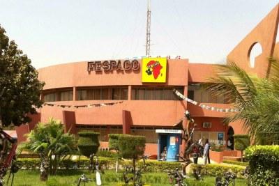 Le siège du Festival panafricain du cinéma et de la télévision à Ouagagougou (FESPACO)
